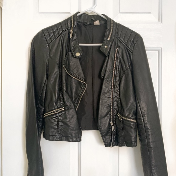 Divided Jackets & Blazers - Faux Leather Jacket